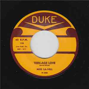 Miss LaVell - Teen-Age Love download mp3 flac